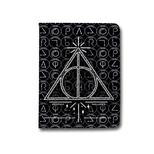 Preisvergleich Produktbild Leather flip Case schale iPad Pro 12.9 WB License harry potter pattern - Hollows triangle N