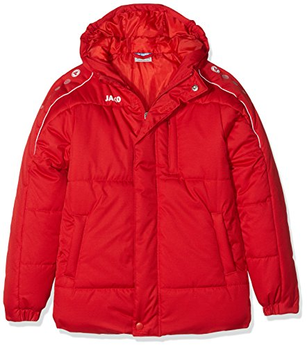 Jako Kinder Active Coachjacke Rot/Weiß