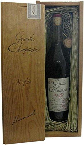 Lheraud Cognac Extra 30 ans 0.7l inclusive caisse en bois
