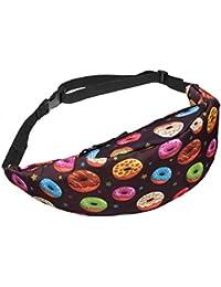Buyworld Print Fanny Pack Bag Pouch Waist Pack Multi-Functional Pocket Bolso Travel Waist Bag Belt Camera Bags...