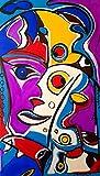 ORIGINAL Kunstwerk Gemälde/ In jede Richtung aufhängbar/ Malerei/ Acrylbild/ Abstrakte Kunst/ Bilder/ Deko/ Wandbild/ Zeitgenösische Kunst/ Moderne Kunst