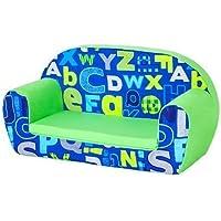 Alphabet Children's Kinder-Mini-Schlafsofa Lounge Möbel