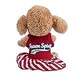 EUZeo Kleiner Hund Kleid Mode Haustier T-Shirt Lovely Buchstaben Gedruckt Kleider Hunde Katze niedlich Sommer Weste Rock Cute Mini Pet Kleider Pullover Kleide