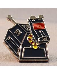 Metal Enamel Pin Badge Doctor Dr. Who K-9 (K9) Robot Dog