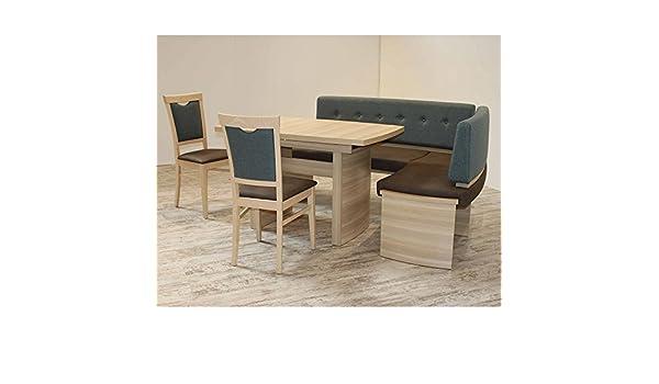 Eckbank Eckbankgruppe Essgruppe PRATO I Essecke Tisch 2 Stühle ...