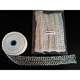 5m Kaliber 14 Bratennetz / Rollbratennetz / Räuchernetz für Einfüllrohr mit einem Durchmesser von Max. 100 mm