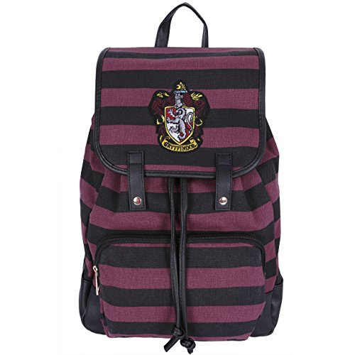 Mochila negra y burdeos HARRY POTTER Gryffindor