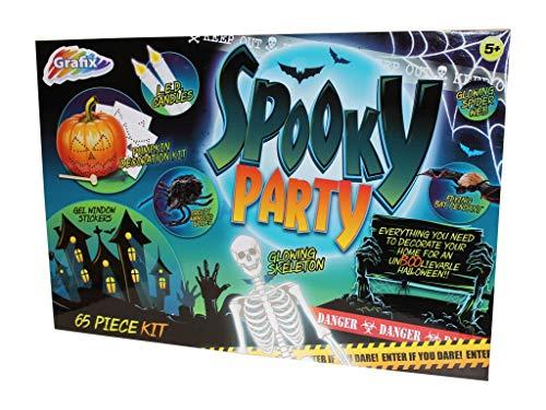 Grafix Gruselig Party 65 Teile Kinder Halloween Dekoration Kit