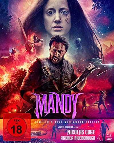 Mandy - Mediabook - Limited 3 Disc Mediabook Edition (+ DVD) (+ Bonus-DVD) - Cover B [Blu-ray]