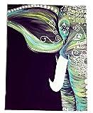 LvRao Muro indiano Hanging Tapestry Hippie Arazzi Foglio Picnic Beach Tovaglie Decorativo della parete Hanging Elefante L:203*153cm