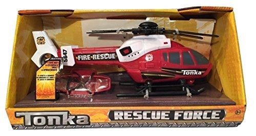tonka-rescue-force-fire-rescue-helicopter-red-and-white-by-tonka