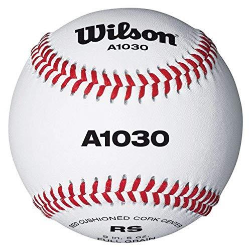 WILSON Official League Baseball Bälle (Flat Seam)