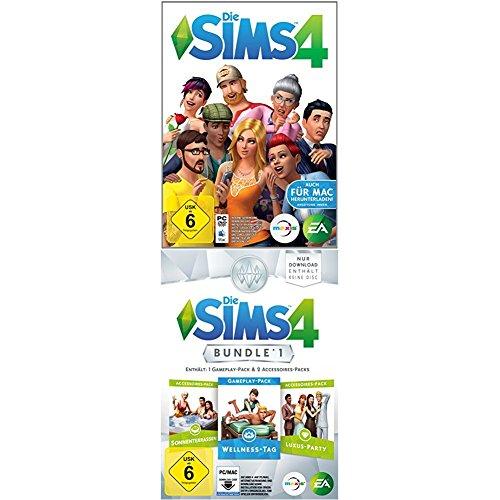 Sims 4 PC Spiel + Bundle Pack