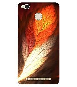 Chiraiyaa Designer Printed Premium Back Cover Case for Xiaomi Redmi 3S Prime (feather colorful) (Multicolor)