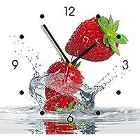 Contento 866079 Reloj de pared de cocina - fresón