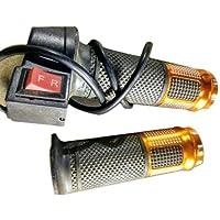 Robot Online Store Throttle 24v 36v 48v Black Electric Scooter ebike Throttle Grip 3 Wires