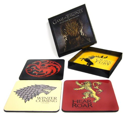 Game of Thrones Sigil Coasters Set Haus Coaster Set