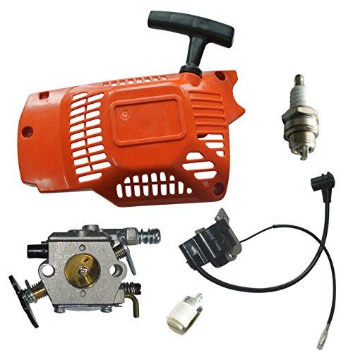 JRL Recoil Starter Carb Zündspule Kit Fit komatasu Zenoah 450052005800490045cc 52cc 58CC 4500 Starter Kit