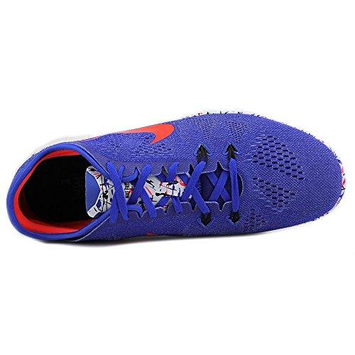 Nike Wmns Nke Free 5.0 TR Fit 5 Prt, Chaussures de Gymnastique Femme Bleu