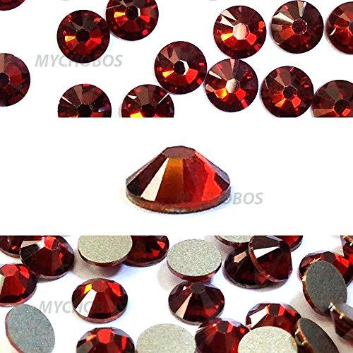 144 pcs Crystal Red Magma (001 REDM) Swarovski 2058 Xilion / NEW 2088 Xirius 16ss Flat backs Rhinestones 4mm ss16 by Crystal-Wholesale -