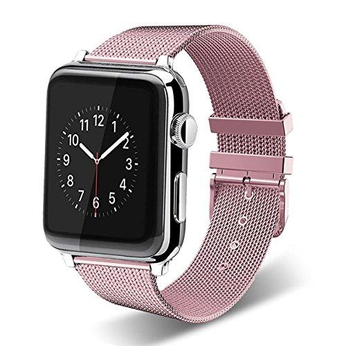 Fashion Milanese Loop Edelstahl Uhrenarmband Armband 38MM 42MM für Apple iWatch Serie 3/Apple Watch Nike + /Serie 2 Serie 1