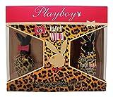 Playboy Play It Wild Eau de Toilette, Spray corpo set regalo per donne