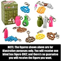 "Things that hurt ~1"" Mini-Figure Zipper Pull (1 Randomly Picked Blind Box Figure)"