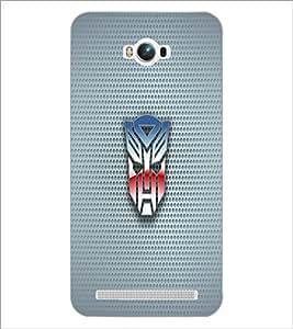 PrintDhaba Mask D-1818 Back Case Cover for ASUS ZENFONE MAX ZC550KL (Multi-Coloured)
