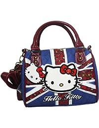 Hello Kitty England Sac porté main pour Femme Bandoulière Sac à l'épaule