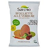 Sarchio Sfogliette Alle Verdure - Biologico - senza Glutine -  12 confezioni da 55 g