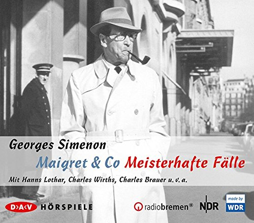 Maigret & Co - Meisterhafte Fälle - DAV 2016
