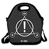 Panic At The Disco Logo Lunch Bag Tote Handbag