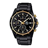 Casio Edifice Chronograph Black Dial Men's Watch-EFR-526BK-1A9VUDF (EX208)