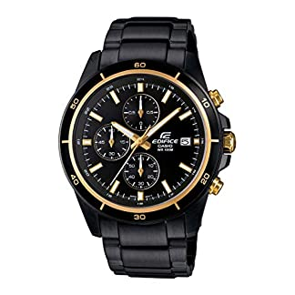 Casio Edifice Chronograph Black Dial Men's Watch – EFR-526BK-1A9VUDF (EX208)