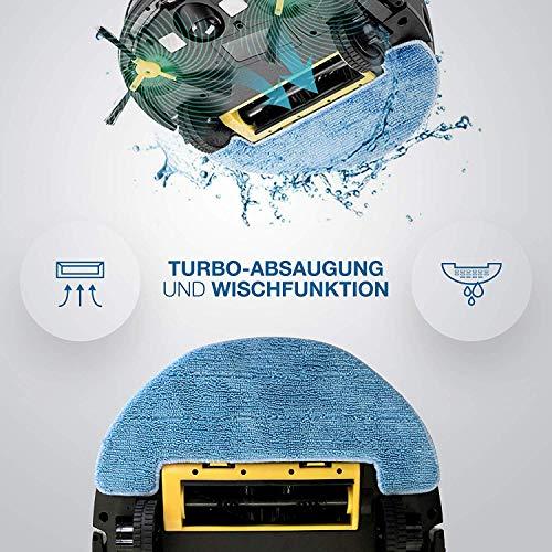 IMASS Saugroboter mit Wischfunktion A3 Perfect Clean Bild 4*