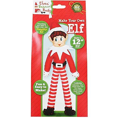 Elben Behavin 'schlecht machen Sie Ihre eigene Elf - 12 Tall - Weihnachtshandwerk (Machen Stofftier Sie Eigenen Ihre)