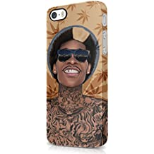 Wiz Khalifa Smoking Weed Joint Bake Sale iPhone 5, iPhone 5S Hard Plastic Case Cover