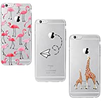 Yokata [3 Packs iPhone 6 Plus Hülle iPhone 6s Plus Hülle Silikon Transparent Durchsichtig Handyhülle Schutzhülle... preisvergleich bei billige-tabletten.eu