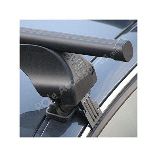 CAM Barres de Toit pour Peugeot 206 5 Portes [08/1998-2003] Peugeot 206 Plus 5p [07/2009-02/2013] Fixation portières