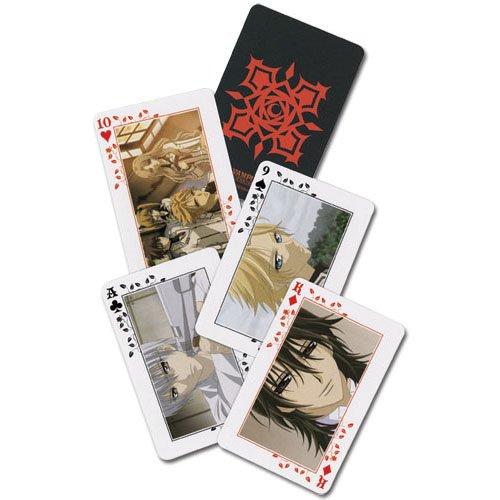 Vampire Knight 52 Blatt Spielkarten Orginal & Lizensiert Pokerkarten (Vampire Knight Kostüm)
