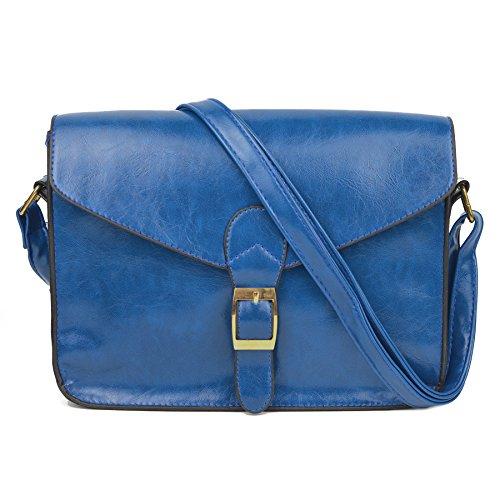 GSPStyle002112-P - Borsa a tracolla Donna blu (blu)