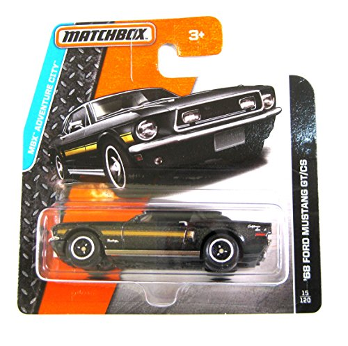 Preisvergleich Produktbild Matchbox Ford Mustang GT/CS 1968 schwarz 1:64