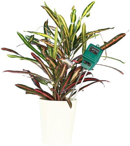 Royal Gardineer PH Messgerät: 3in1-Kombi-Bodenmessgerät für Pflanzen (Pflanzen Feuchtigkeitsmesser)