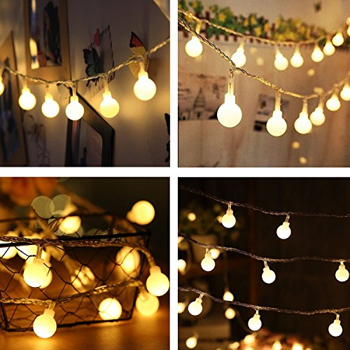 40 LED Battery 14ft warm Color für Garden Party und Holiday Decoration (warm white)