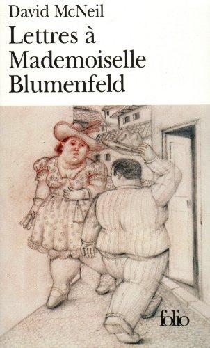 Lettres à Mademoiselle Blumenfeld par David McNeil