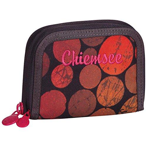 Chiemsee Uni Wallet Twin Zip Dots Black