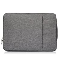 13 inch Laptop Sleeves,Miya 13-13.3 Inch Portable Laptop Sleeve Case Cover Briefcases Polyester Carrying Bag Handbag for 13-13.3 Inch Laptop, Notebook, MacBook Air/Pro - Grey
