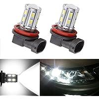 S&D Lampadine a LED 12 SMD Cree XPE posteriori per freni dell'auto, da 12V (confezione da 2 pezzi)