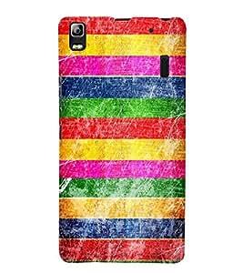 FUSON Grunge Multicolor Background 3D Hard Polycarbonate Designer Back Case Cover for Lenovo A7000 :: Lenovo A7000 Plus :: Lenovo K3 Note