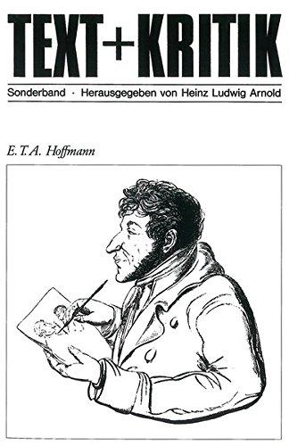 E. T. A. Hoffmann (TEXT+KRITIK Sonderband)